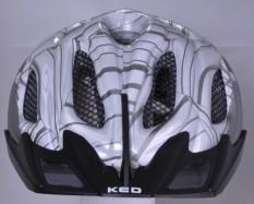 reflective helmet silver