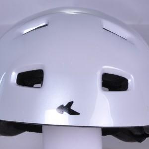 Safeways.eu/LEDl-hi-visibility-apparel/KED-helmet5Forty M White Glossy-v