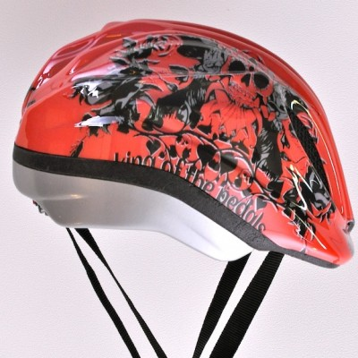 Safeways-helmets-red tattoo-right