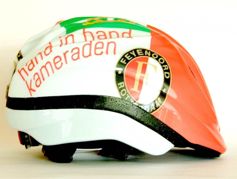 Design Helm feyenoord rotterdam design cycling helmet